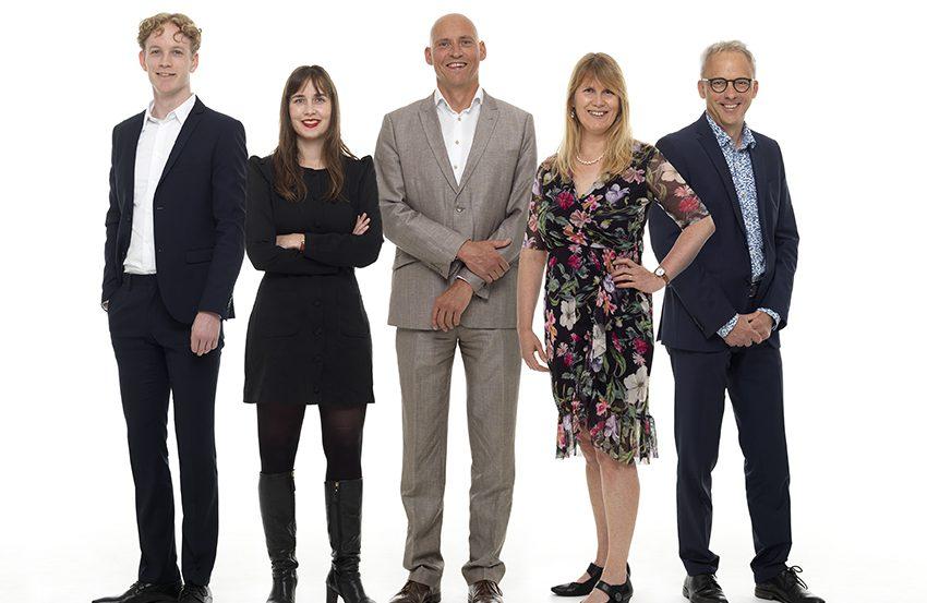 Teamfoto Warnink en Both advocaten